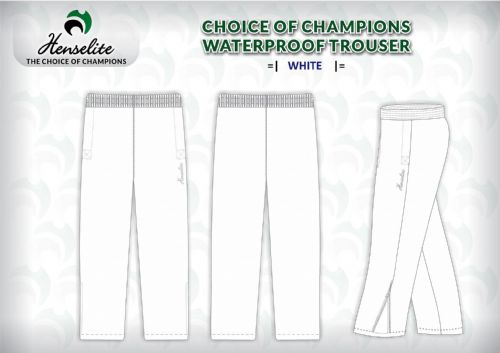 Henselite 'Choice Of Champions' Waterproof Trousers